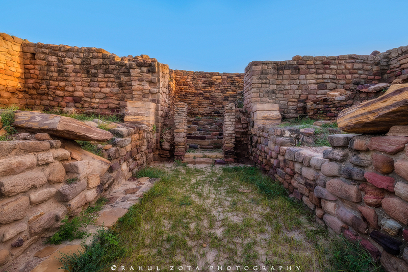 The Harappan civilization of Dholavira