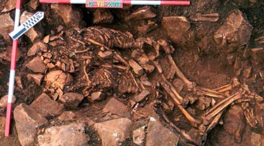 6,000-Year-Old Skeletons Found Locked in Embrace Near Greek Cave