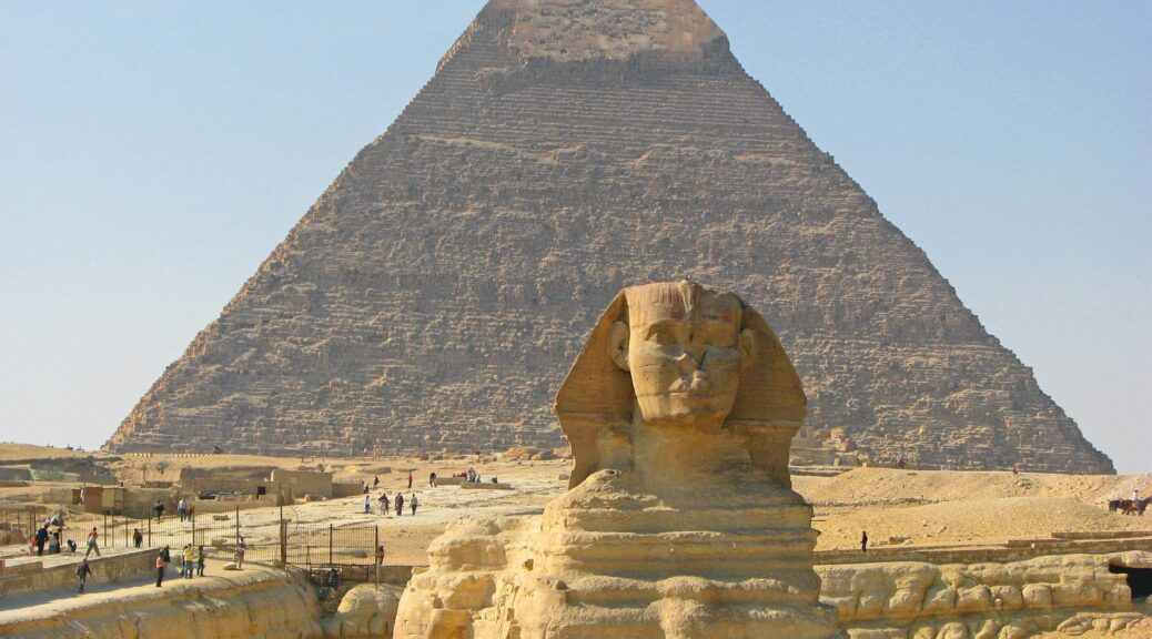 A New geological study shows that the great sphinx of Giza is 800,000 Years old