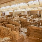 The Ancient buried City of Akrotiri