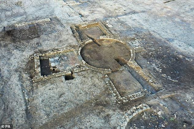 Roman villa and bathhouse