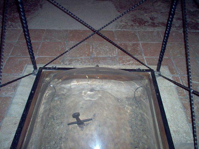 Sword in the Stone at Montesiepi Chapel