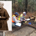 Archaeologists discover the site of Harriet Tubman's father's home in Maryland