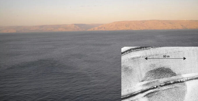 Mysterious Stone Structure Discovered Beneath Sea In Israel