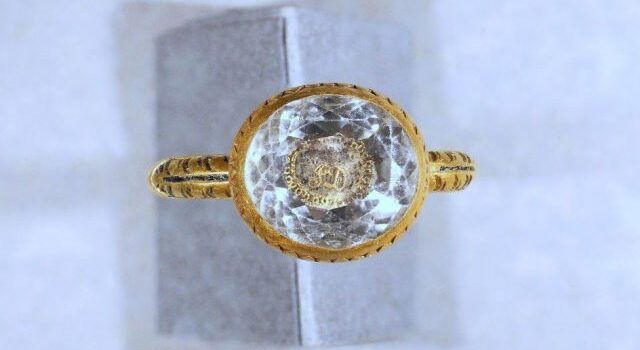 370-year-old gold ring may have honored beheaded earl