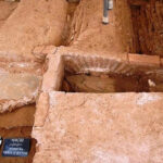 Grave Of Gothic Warrior Buried With His Weapons Unearthed In Downtown Thessaloniki