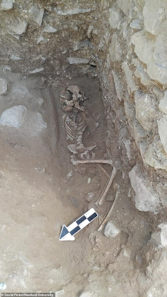 'Vampire' discovered buried in Cemetery of Children in Italy