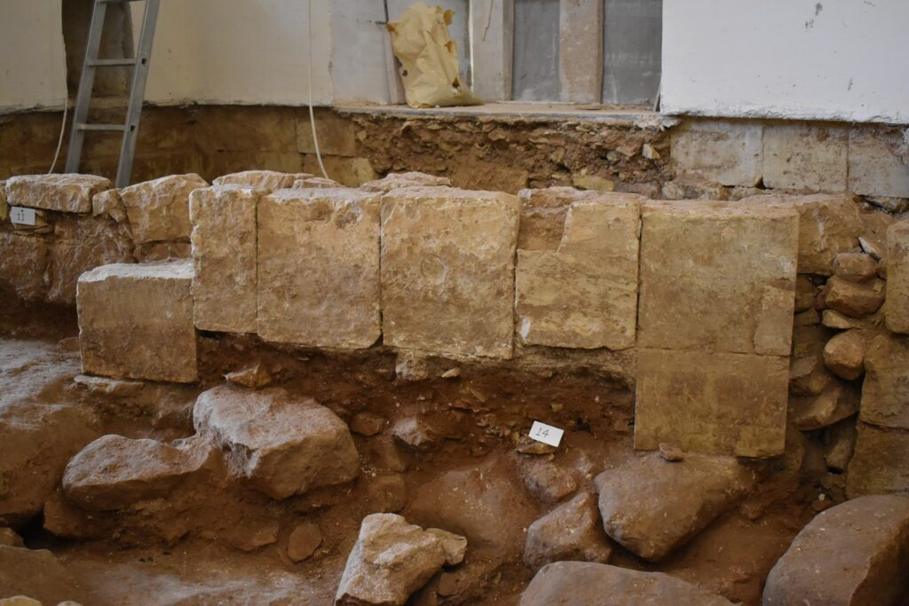Medieval chapel found underneath 17th-century Maltese church