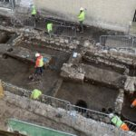'Heart' of medieval town revealed by building work
