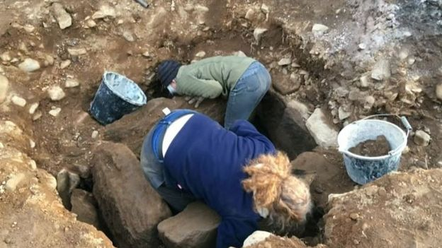 A 4,000-Year-Old skeleton discovered in Northern England