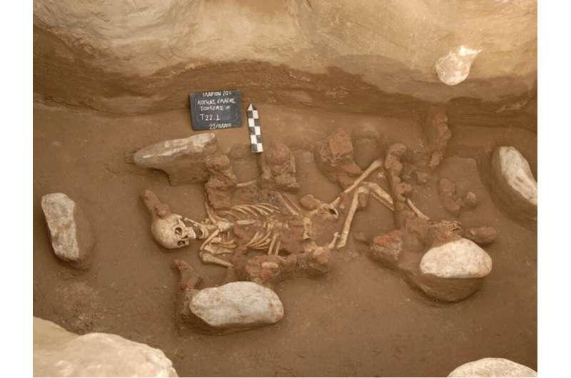 Ancient DNA reveals origin of first Bronze Age civilisations in Europe
