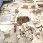 Two rock chambers thought to be dining rooms unearthed at 'House of Muses' in southeastern Turkey