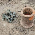 Treasure hoard of sixth-century coins discovered in Russia