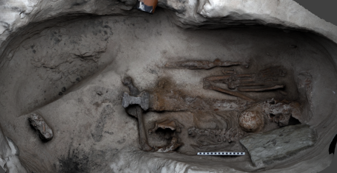 Work begins to unlock secrets of 1,100-year-old Viking burial site discovered in Orkney