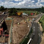 Archaeologists unravelling the history of Rome along Dere Street, one of Britain's oldest roads