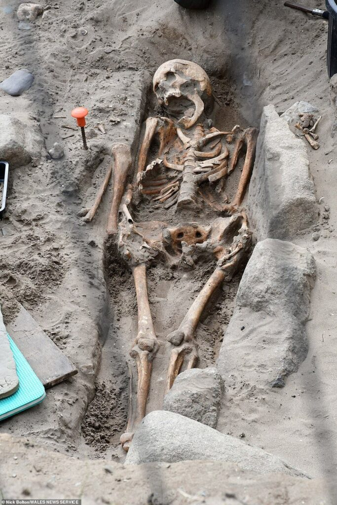 Around 200 medieval skeletons unearthed at Pembrokeshire beach
