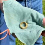 Norwegian Boy in Search of Granddad's Wedding Ring Finds 1500-year-old Roman Jewellery
