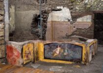 """This summer, a 2,000-year-old """"thermopolium"""" fast-food restaurant in Pompeii will reopen to the public"""
