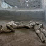 Pompeii excavation unearths well-preserved bodies of wealthy man and slave