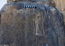 Carving of the Last King of Babylon
