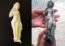 A 1,800-year-old Roman Venus figurine unearthed in England was a Home Deity